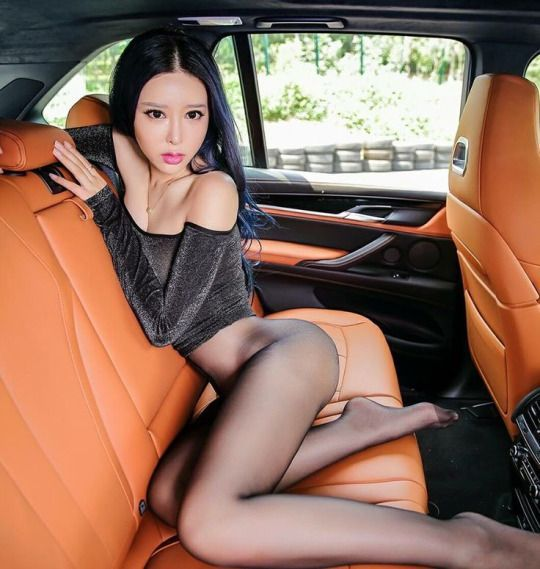 Asian Feet In Pantyhose