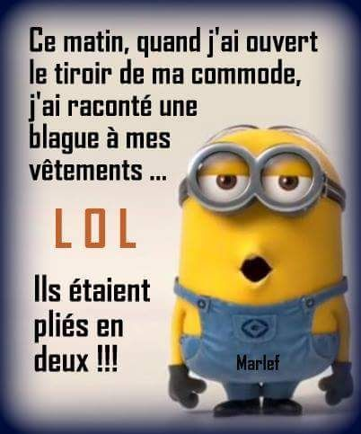 Humor & quotes QUOTATION – Image : As the quote says – Description J'ai raconté une blague à mes vêtements… - #FunnyQuotes
