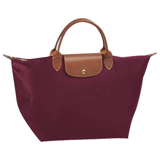 Longchamp le Pliage in Burgundy. A score from local TJ Maxx.