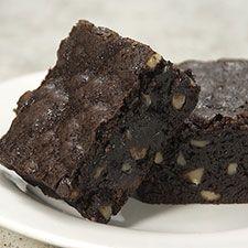 Deep-Dark Fudgy Brownies | Recipe | Fudgy Brownies, Brownies and King ...