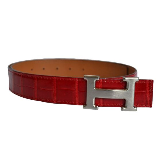 1stdibs.com   Authentic Hermes H Constance buckle Permabrass