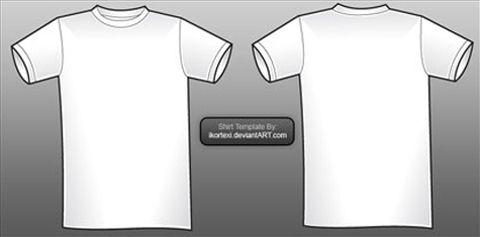Download Shirt Vector Shirt Template Shirts Templates