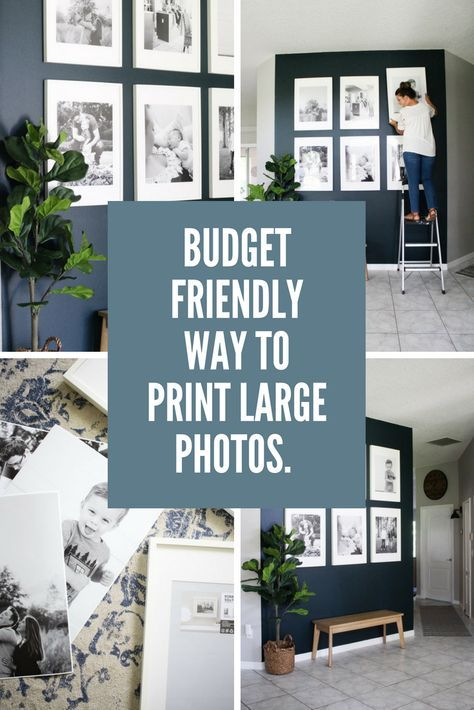 Printing Poster Size Images For A Gallery Wall Dining Room Gallery Wall Large Gallery Wall Dining Room Wall Decor