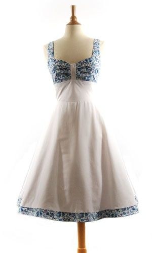I love the old 50 style dresses &lt3  MyStyle  Pinterest  The old ...