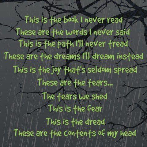 Lyrics - Annie Lennox