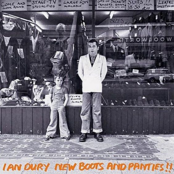 Ian Dury and the Blockheads - LP - New boots ans panties !! - 1977