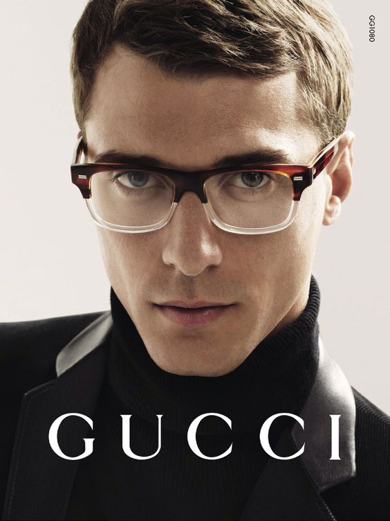 Clément Chabernaud by Mert & Marcus for Gucci Eyewear Campaign image Clement Chabernaud Gucci Eyewear Fall 2014 Campaign: