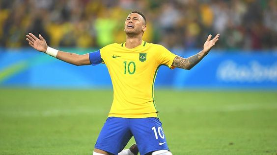 Im Olympia-Himmel: Neymar