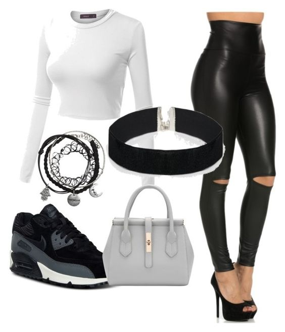 """""""Untitled #3"""" by cuppiiecakelove on Polyvore featuring Doublju, NIKE and ASOS"""
