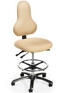 The Discovery back chair was designed to specifically address users seeking to promote a healthier seating posture.