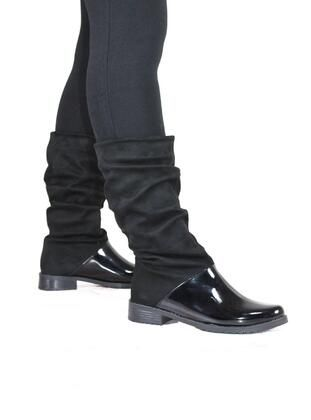 ملون جزم Beige Boots Boots Black Boots