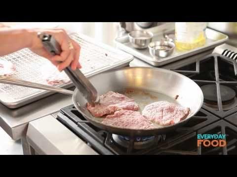 Pork Milanese with Arugula Salad | Everyday Food with Sarah Carey