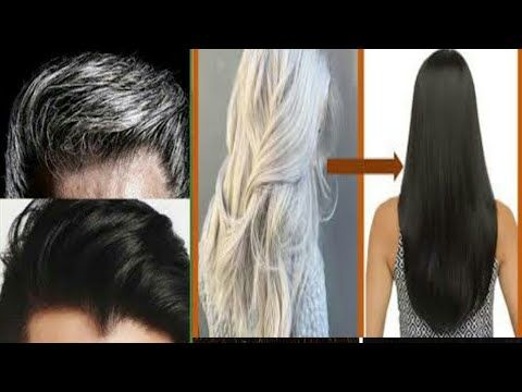 وصفة بدون غسيل لعلاج شيب الشعر نهائيا بدون صبغة أو حناء ومنع White Hair To Black Naturally At Home Youtube Hair Styles Long Hair Styles Hair