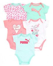 Infant & Newborn - 5 PACK BODYSUITS (NEWBORN)