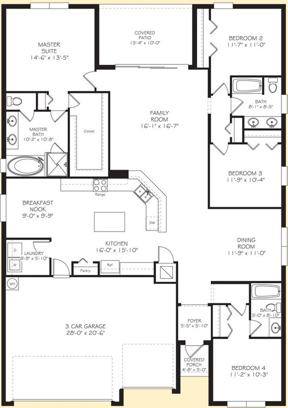 Lennar Homes Kennedy Floor Planthis is the floormodel jack