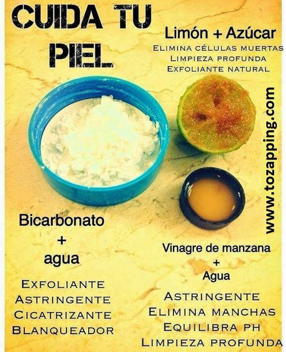 Remedios caseros para cuidar tu piel. Un buen remedio casero con este kit para la piel de la cara (se puede aplica para toda la piel, pero se usa principal