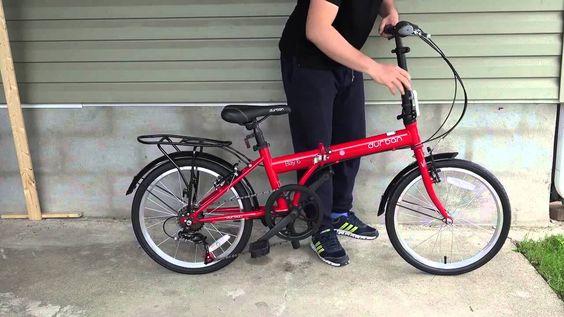 Bicicleta Dobrável Durban Bay 1 20 - 1 Marcha - Montagem