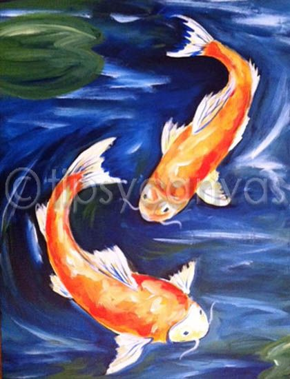 Pinterest the world s catalog of ideas for Easy fish painting