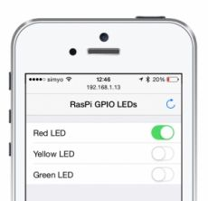 Primera aplicación web en Raspberry Pi con NodeJS + CylonJS. Controlando LEDs desde el móvil - Raspberry Pi