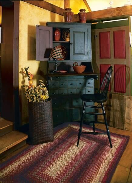 The cupboard and basket :-)