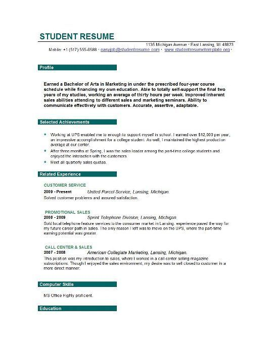 Objective Statement For Student Resume In 2020 Resume Objective Statement Examples Resume Objective Examples Student Resume