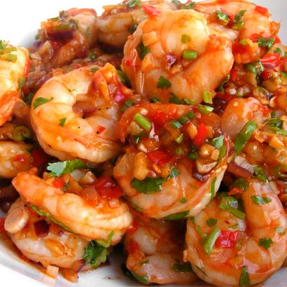 Power Meals Every Man Should Be Able To Make - Szechwan Shrimp