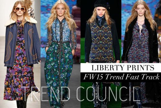 TREND COUNCIL FW 2015- LIBERTY PRINTS