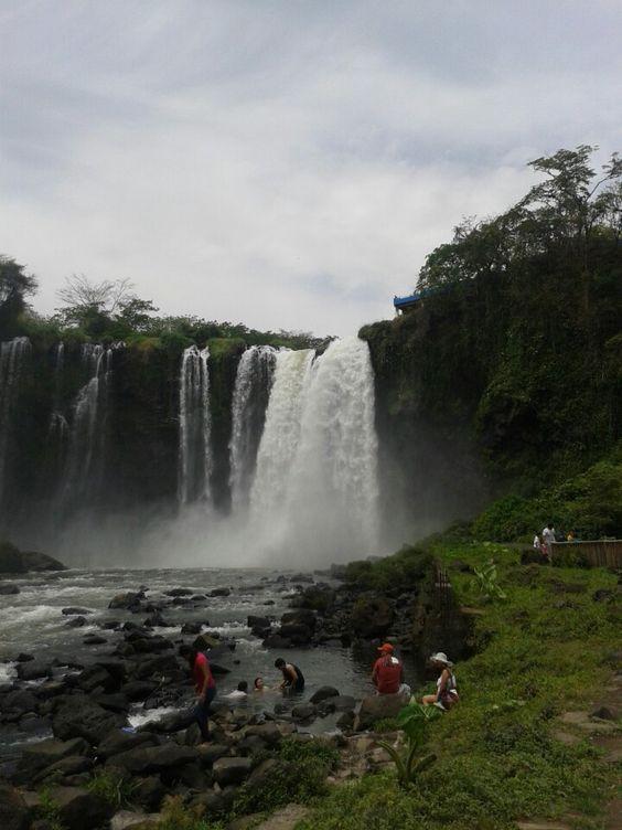 Salto de Eyipantla en Catemaco, Veracruz, México