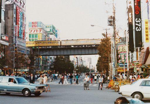 上野~秋葉原(1982年) | 東京 風景、風景、日本の景色