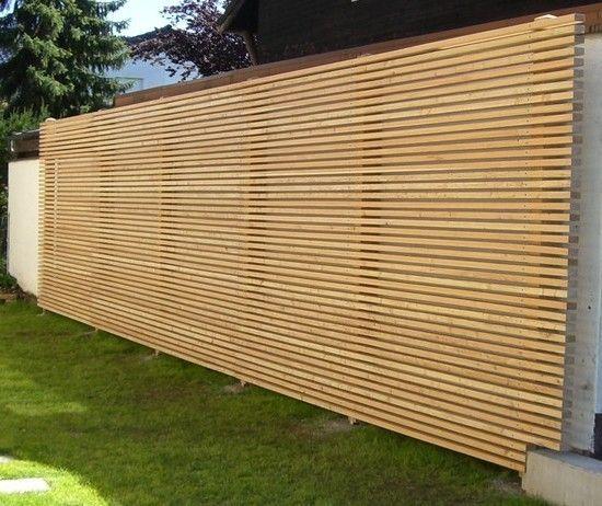 die besten 25+ sichtschutzzaun bambus ideen auf pinterest ... - Garten Sichtschutz Holz Bambus