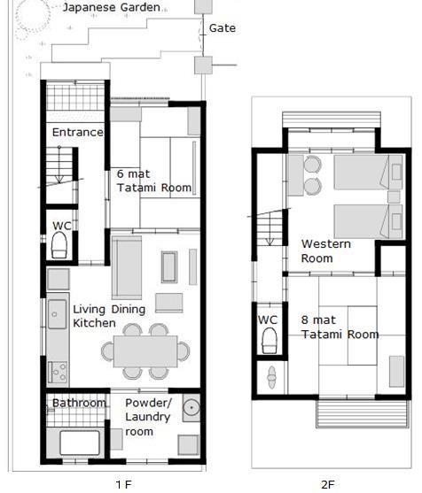 Sanjusan Machiya Floor Plan My Kyoto Machiya In 2021 Japanese Modern House Japanese Home Design Floor Plans Contemporary japanese house plans