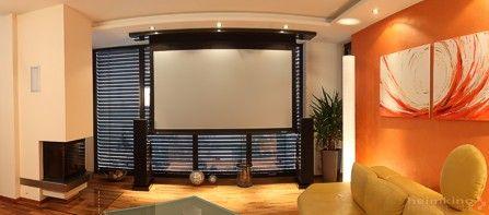 Integrated Livingroom Cinema
