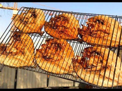 سمك مشوي على الفحم اطيب من المطاعم Youtube Arabic Food Seafood Food