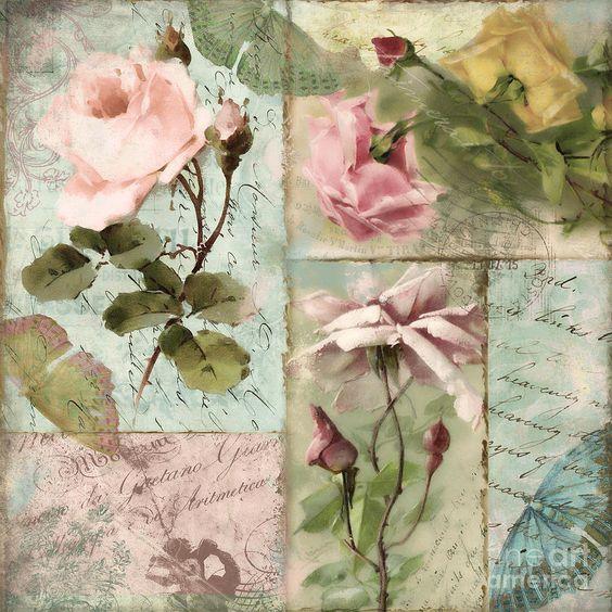Belles Fleurs I Painting:
