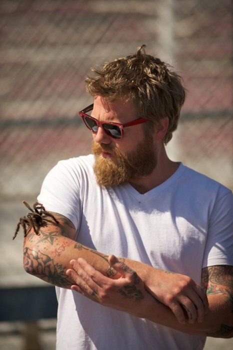 This was my very first ginger crush! God, I always thought he was hotter than four yards of Hades! (Ryan Dunn RIP)