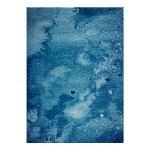 Abstrakt vattenfärgbakgrund poster