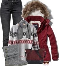 winter outfits polyvore 1 bmodish