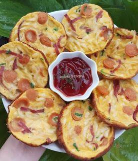 Resep Omelet Makaroni Resep Sarapan Resep Makanan Enak