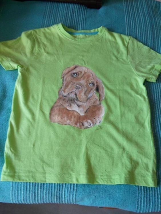 Galería Mascotas - Artesanía camisetas pintadas a mano