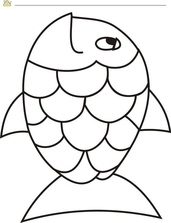 Pin By Sheri On Worksheets Fish Template Fish Coloring Page Coloring Pages