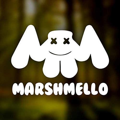 Amazon Com Marshmello Vinyl Sticker Sizes 4 6 8 10