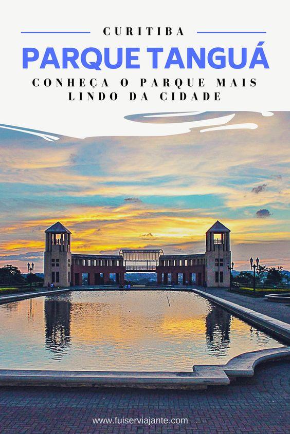 Parque Tanguá, o parque mais lindo de Curitiba
