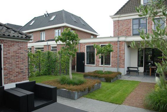 Van veen tuinontwerpen hoorn klassiek moderne tuin gardens pinterest tuin and van - Klassiek bed ...