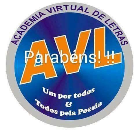 Identidade visual da AVL - Logotipo de Parabéns.