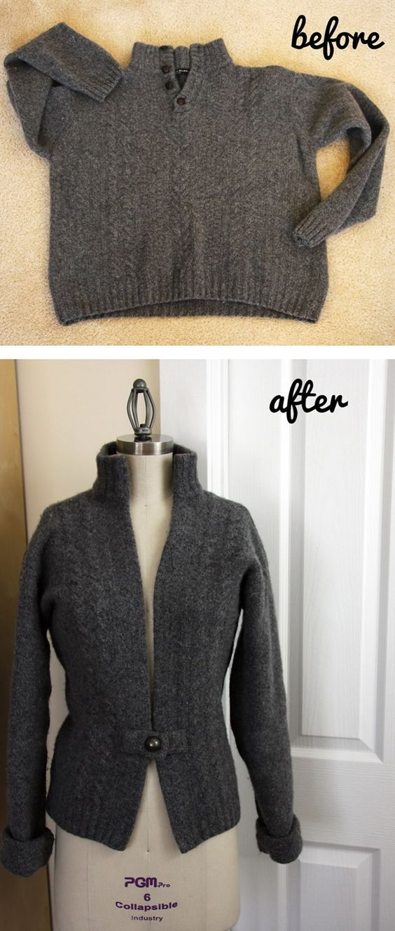 de sweaters de hombre a sweaters de mujer: