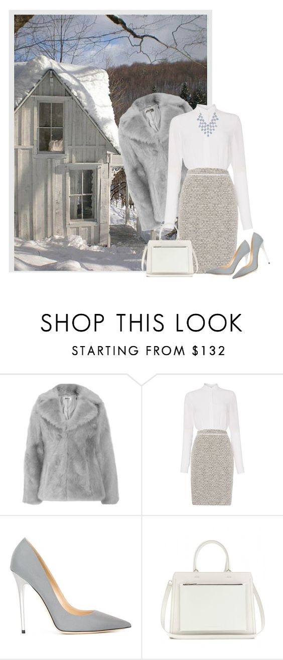 """Untitled #898"" by soleuza ❤ liked on Polyvore featuring moda, HUGO, Jimmy Choo, Victoria Beckham, Charlotte Russe ve babyitscoldoutside"
