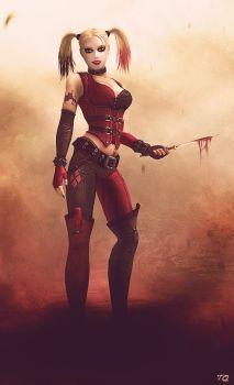 Injustice: Arkham Harley Quinn by ToxicQuinn