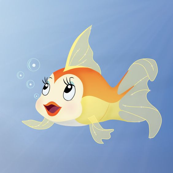 Goldfish Cleo With Images Fish Art Goldfish Art