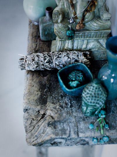 Teal: Colour, Color Palettes, Sacred Spaces, Spiritual Altars, Blue Green, Der Spek