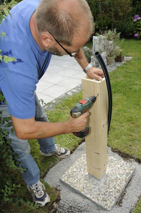 Wasserzapfstelle Im Garten Jardineriaenmacetas Wasserzapfstelle Im Garten Water Tap Irrigation Outdoor Gardens Design